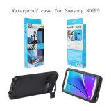 대중적인 디자인 Samsung Note5를 위한 방수 다색 전화 상자
