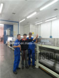 Novo tipo maquinaria refrigerando de Raidsant do granulador da cera do PE da correia de aço