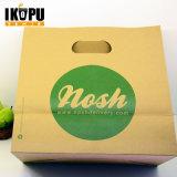 Sac à provisions personnalisé par logo de Promotinoal/sac de papier transporteur de vêtements