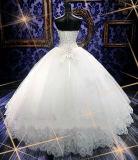 Платье венчания мантии шарика роскошного кристалла 2017 Beaded (Dream-100075)