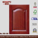 韓国様式のチークの食器棚のドア(GSP5-040)