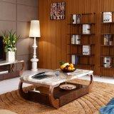 Tavolino da salotto quadrato inossidabile di stile dell'annata (LC2030)