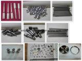 CNC de la precisión del centro de mecanización de 5 ejes que trabaja a máquina el acero inoxidable