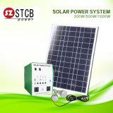 Sistema Solar 300W con la batería 12V24ah y el panel solar 50W