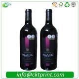 Более дешевый изготовленный на заказ стикер вина обозначает печатание в Китае (CKT-LA-413)