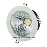 新しいデザイン昇進のDimmable 20W 30Wの40Wによって引込められるクリー族の穂軸LEDのジンバルDownlightとの