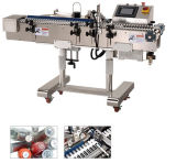 Máquina de enchimento Shrinking da máquina de etiquetas da luva da etiqueta do frasco da etiqueta