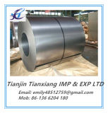Bobine en acier galvanisée enduite par zinc d'acier du carbone de qualité commerciale