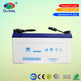 Freie VRLA Leitungskabel-Säure-Batterie-Solarbatterie 12V 100ah warten