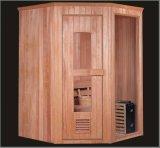 Sala de sauna de madeira maciça com tamanho personalizado (AT-8610)