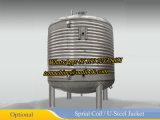 高いせん断のミキサーが付いている蒸気暖房の混合タンク500L