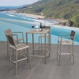 Cadeiras de madeira plásticas da barra elevada creativa européia do café do espaldar do estilo
