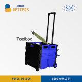 中国の収納箱の青の新しい電力の工具セットボックス
