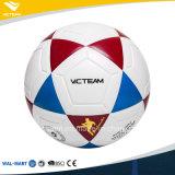 Отсутствие размера прокатанного раной футбола PU стежком материальной Nylon шарика 5