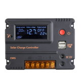interruptor solar do automóvel do controlador da carga de 20A 12V/24V