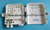 FTTH 8 Doos van de Distributie van de Vezel van de Haven de Optische voor 1X8 PLC Splitser