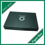 Caixa de presente branca do cartão do molde do livro