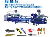 Drehzwei Einspritzung-formenmaschine der Farben-TPU/Tr