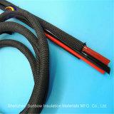 Manicotto espansibile diSpostamento di protezione del cavo del nero dell'animale domestico