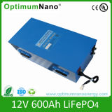 LiFePO4 Lithium-Batterieleistung-Bank der Batterie-12V 600ah mit PCM