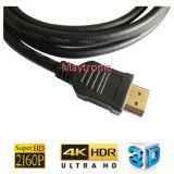 Cabo de HDMI, Ethernet das sustentações, 3D, 4k e retorno do retorno do áudio