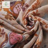 Form-dickflüssige Schal-nette Eule gedruckte Dame für moslemisches Hijab