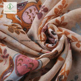 Form-dickflüssiger Schal-nette Eulen-Drucken-Dame Moslem Turban