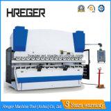Máquina de dobra da máquina Wc67y-80X3200 de dobramento hidráulica & da placa de aço