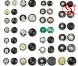 зуммер держателя поверхности Beeper зуммера 12V 26*17mm круглый связанный проволокой механически