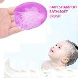 Almofada de escova de chuveiro de bebê para esfregões faciais