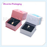 Caja de embalaje modificada para requisitos particulares de la joyería profesional de la cartulina