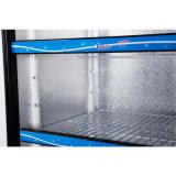 2個の温度およびロッカーが付いているSligdingのドアの直立したフリーザー