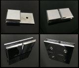 Ajustage de précision en alliage de zinc en verre de bride de porte de charnière de douche de /Brass de 180 degrés