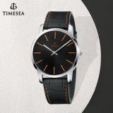 Uhr der leuchtenden eleganten Edelstahl-Quarz-Uhr-Männer mit Schweizer Qualität 72705