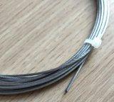 316 1.4401 A4 8X7 1X19 1.5mmのステンレス鋼ワイヤーロープ