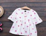 Il modo del vestito da estate delle ragazze dei bambini ha stampato il pannello esterno della bamboletta