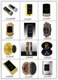 Fechamento do gabinete de cartão eletrônico da segurança RFID