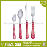 Tischbesteck Made in Jieyang Plastic Handle Cutlery Set