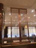304 스테인리스 호텔 Docoration 스크린 대중음식점 금속 관통되는 분할