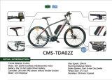 Cms-Tda02z Aluminiumlegierung-Gebirgsfahrrad mit schwanzlosem mittlerem Motor