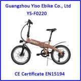 Caliente vendiendo a 20 '' mini cabritos plegables la bici plegable eléctrica de E