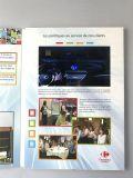7 pulgadas de pantalla LCD gráfica saludo personalizado tarjetas de vídeo de China