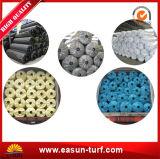 tappeto erboso sintetico di calcio variopinto di 50mm con il prezzo poco costoso