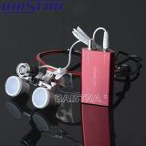 Phare dentaire binoculaire de loupe du rapport optique DEL du rouge 3.5