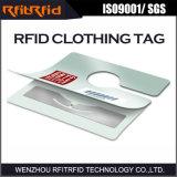 Etiqueta passiva da escala longa RFID da freqüência ultraelevada para a roupa