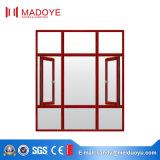 Rivestimento di alluminio della polvere della finestra della stoffa per tendine del grano di legno di alta qualità