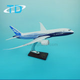 B787 Boeing House Color Synthetic Material Model Airplane