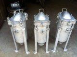 Heißes verkaufendes einzelnes Beutel-Gehäuse für industrielles, Beutelfilter-Gehäuse der China-Fertigung-SS, Edelstahl-Filtergehäuse