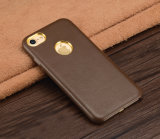 iPhone 7/7plusのための革黒い携帯電話の箱