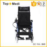 Prezzi adagiantesi pieghevoli resistenti Handicapped della sedia a rotelle elettrica di potere di riabilitazione